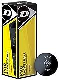Dunlop Pro Intermediate & Advanced Players Racketball Balls Box Of 3
