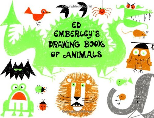 Ed Emberley's Drawing Book of Animals - Book  of the Ed Emberley Drawing Books