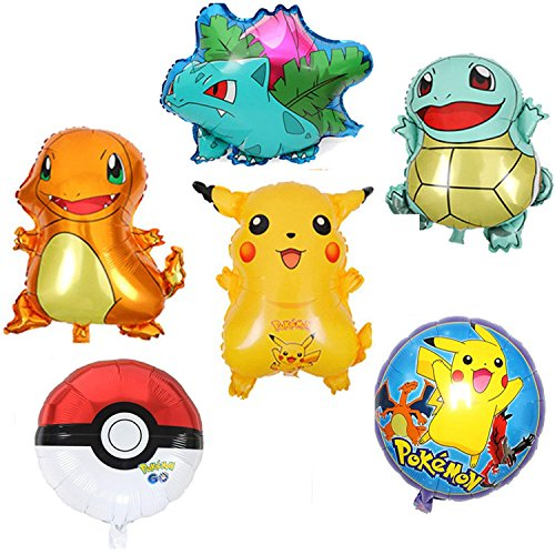 Large Pokemon Theme Party Balloons Decorations ...