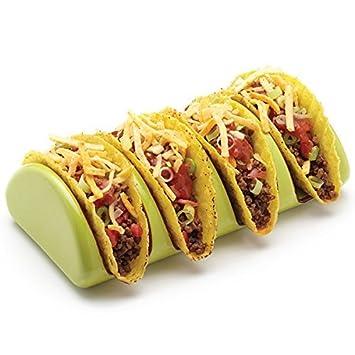 Mexican Ceramic Taco Holder to Serve Tacos  sc 1 st  Amazon.com & Amazon.com : Mexican Ceramic Taco Holder to Serve Tacos : Serveware ...