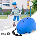 TurboSke Toddler Kids Bike Helmet - Size Adjustable for 3-8 Children Bicycle Skate Skateboard and Scooter, CPSC and ASTM Dual Certified Multi-Sports Safety Helmet for Boys and Girls