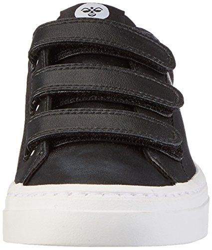 Hummel Deuce Court Velcro, Zapatillas Unisex Adulto Negro (Black)
