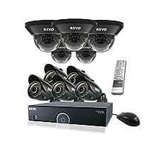 REVO America R165D5GB5G-2T 16 Ch. 2TB 960H DVR Surveillance System with 10 700TVL 100 ft. Night Vision Cameras
