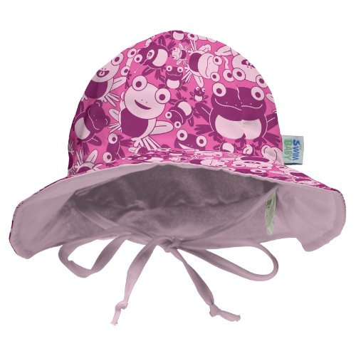 (My Swim Baby Sun Hat, Hopping Holly, Small)