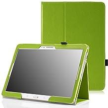 MoKo Samsung Galaxy Tab S 10.5 Case - Slim Folding Cover Case for Samsung Galaxy Tab S 10.5 Inch Android Tablet, GREEN (With Smart Cover Auto Wake / Sleep)