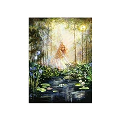 The Wishing Pool Jigsaw Puzzle 1000pc By American Puzzles