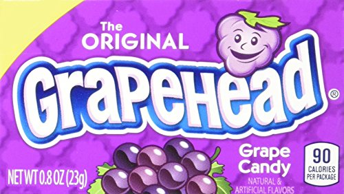 Grapehead Candy, 0.8 Ounce Box, Pack of 24