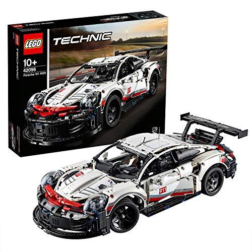 LEGO42096TechnicPorsche911RSRRaceCarAdvancedBuildingSet,ExclusiveCollectibleModel