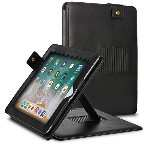 Fosmon Folio Carrying Case Flip Cover with Stand for Apple iPad 2 / iPad 3 / iPad 4 (with Retina Display) - (Ipad 2 Fosmon Case)