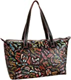 Sydney Love Stepping Out Collection Top Zip Tote,Steppin' Out,one size, Bags Central