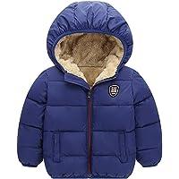 Miyanuby Chaqueta De Abrigo con Capucha para Bebé Niños Niñas Abrigo De Invierno Cálido Grueso para Bebé Niños Niñas De…