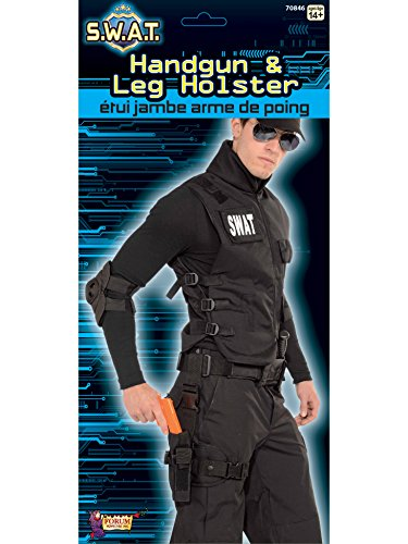 Leg Holster with Leg Strap Set Black