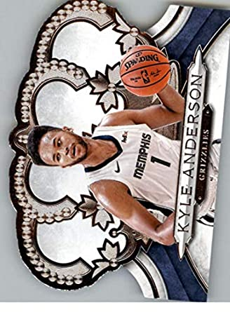 Amazon.com: 2018-19 Crown Royale Basketball #119 Kyle Anderson Memphis Grizzlies Official NBA Trading Card (made by Panini): Collectibles & Fine Art