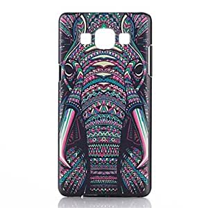 qyf Elephant Pattern PC Hard Back Case for Samsung Galaxy A5