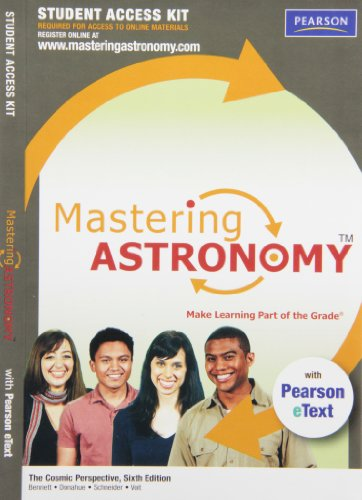 MasteringAstronomy with Pearson eText Student Access Kit for The Cosmic Perspective (6th Edition)