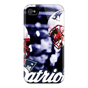 Awesome New England Patriots Flip Cases With Fashion Design For Iphone 6plus