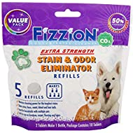 Fizzion Pet Stain and Odor Extra Strength Eliminator (10 Tablets, Extra Strength)