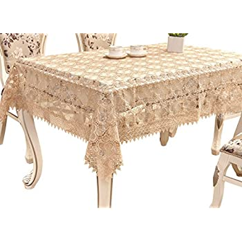 Lace tablecloth rectangle 54 x 72 table for Table 60x120
