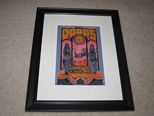 Framed The Doors Concert Mini Poster, 1967 Sacramento Tour, 14