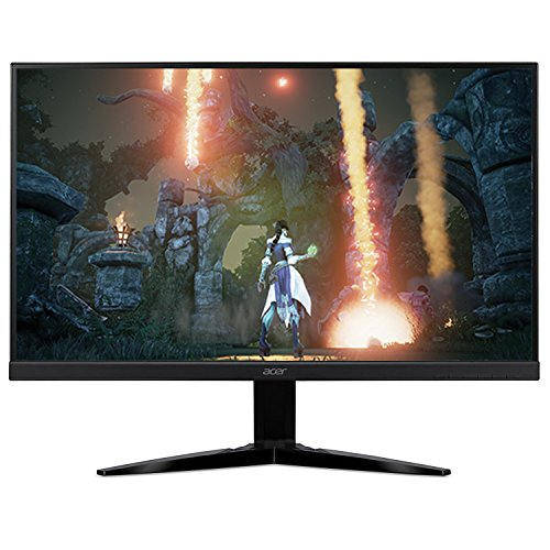"Acer KG271 bmiix 27"" Full HD (1920 x 1080) TN Monitor with AMD FREESYNC Technology (2 x HDMI & VGA Port),Black"