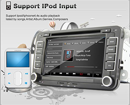 Pupug Top GPS Navi 7 pulgadas Android 4.2.2 Coche PC DVD ...