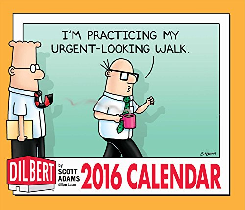 Free Comic Book Day Dubai: Dilbert 2016 Day-to-Day Calendar