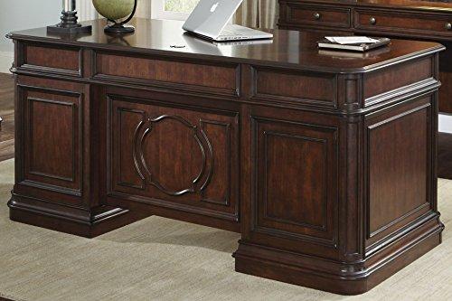 Liberty Furniture 273-HOJ-JED Brayton Manor Jr Executive Desk, 66