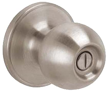 Charmant Dexter By Schlage J40CNA620 Corona Bed And Bath Knob, Antique Pewter