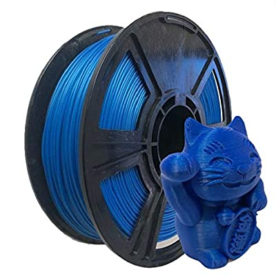 Pearl Blue PLA 3D Printer Filament 1.75mm - 2.2lbs / 1kg - Made in The USA