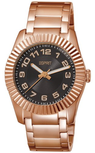 Esprit Men's Quartz Watch Vestige Rosegold ES103582006 with Metal Strap