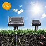 DOPA Solar Powered Mole Repellent, Solar Repel Mole, Chaser Mole Gopher Vole Repeller
