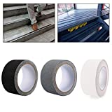 32.8ft Non-Slip Adhesive Carpet Tape Warning Ground Stickers Non Slip Shower Strips Flooring Safety Tape Non Skid Grit Tape Track Tape Tread Tape