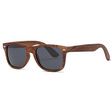 kimorn Polarizado Gafas De Sol Clásico Unisexo Cuerno Rimmed Años 80 Retro AE0300