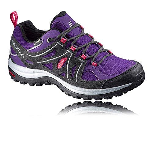 Salomon L37920200, Zapatillas de Senderismo Mujer Morado (Cosmic Purple /             Asphalt /             Lotus Pink)