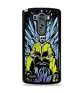 Breaking Bad Game Of Thrones Black Hardshell Case for LG G3