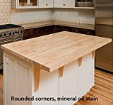 "Allwood 1.5"" x 48"" x 96"" Birch Table/Counter/Island Top see all edge options"