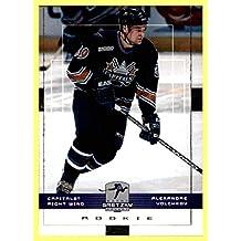 1999-00 Upper Deck Wayne Gretzky Hockey #178 Alexander Volchkov RC WASHINGTON CAPITALS ROOKIE
