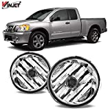 Winjet WJ30-0091-09 OEM Series for Nissan [2004-2015 Titan] [2005-2007 Armada] Clear Driving Fog Lights