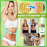 The Card Zoo Herbal Fat Loss Spray - 10ml Natural & Safe Slimming Spray - Lose Weight Fast Slimming Spray - for Tummy, Waist,Legs, Arms, Buttocks - Anti-Cellulite & Skin Firming Cream