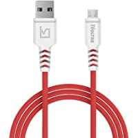 iVoltaa Helios Micro USB Cable - 4 Feet (1.2 Meters) - Red