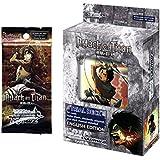 Weiss Schwarz Attack on Titan Bundle: 50 Card Trial Deck & 3 Booster Packs - Bundle of 4 Items
