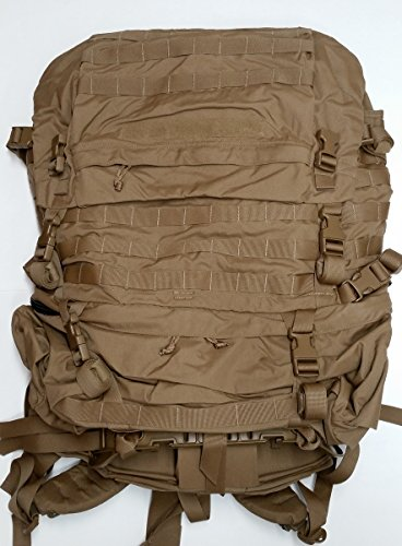 FILBE USMC Main Pack Coyote Brown with Frame and Waist Belt