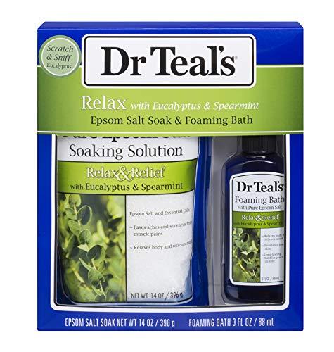 (Dr Teal's Epsom Salt Eucalyptus and Spearmint)