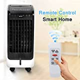 #4: COSTWAY Evaporative Air Cooler with Fan & Humidifier Portable Bladeless Quiet Electric Fan w/Remote Control