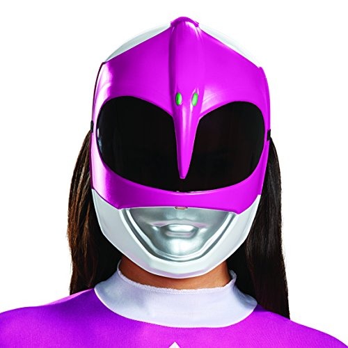 Disguise Women's Pink Ranger Adult Mask, One -