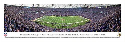 Minnesota Vikings - 50 Yard  - Finale - Blakeway Panoramas Unframed NFL Posters