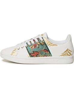 Court Shoes GeopatchBaskets Desigual Femme retro Basses SUzpVqMG