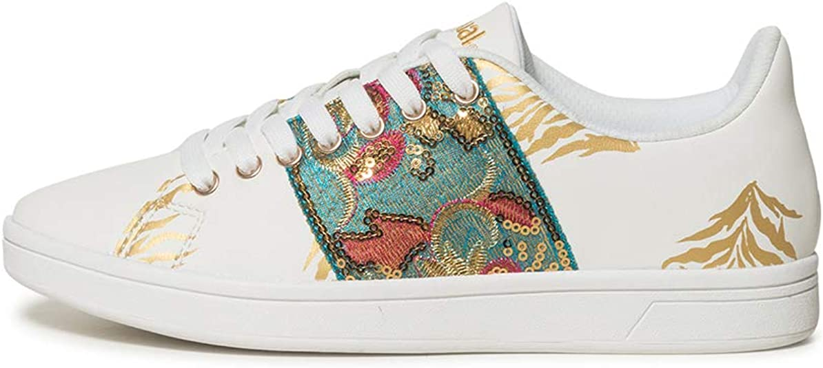 Desigual Damen Shoes (Cosmic_Exotic Tropical) Sneaker