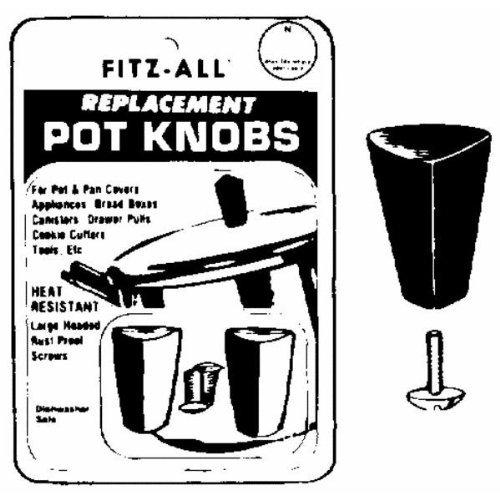 Tops Replacement Pot Knob Fits Pots, Pans, Cookware, Caniste