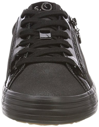 top 2 Sneakers black Women's oliver Antic 21 23615 Black Low S S1FfwZaqW